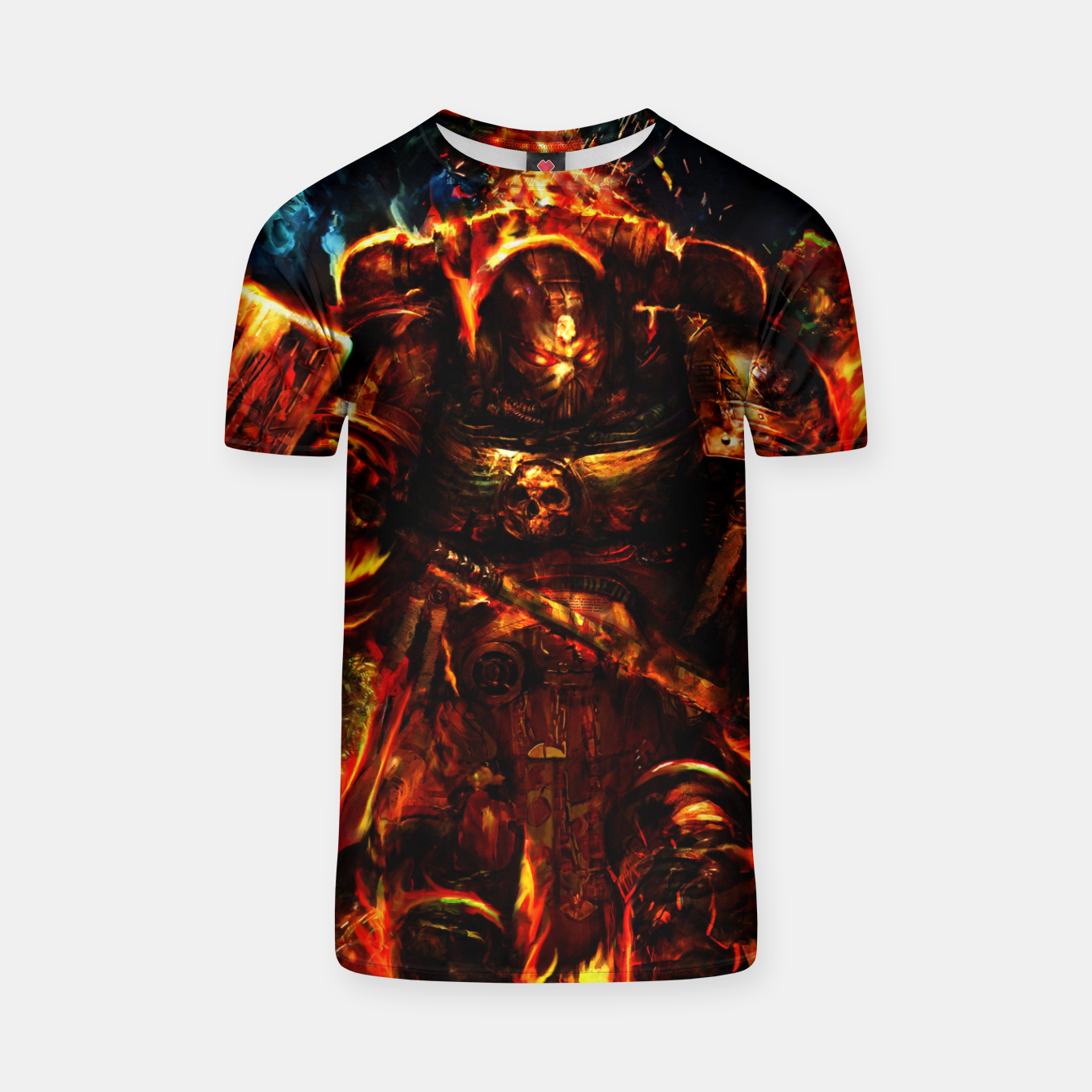 Image of warhammer T-shirt - Live Heroes