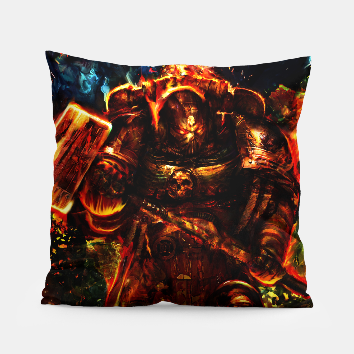 Image of warhammer Pillow - Live Heroes