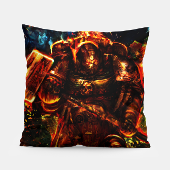 Thumbnail image of warhammer Pillow, Live Heroes