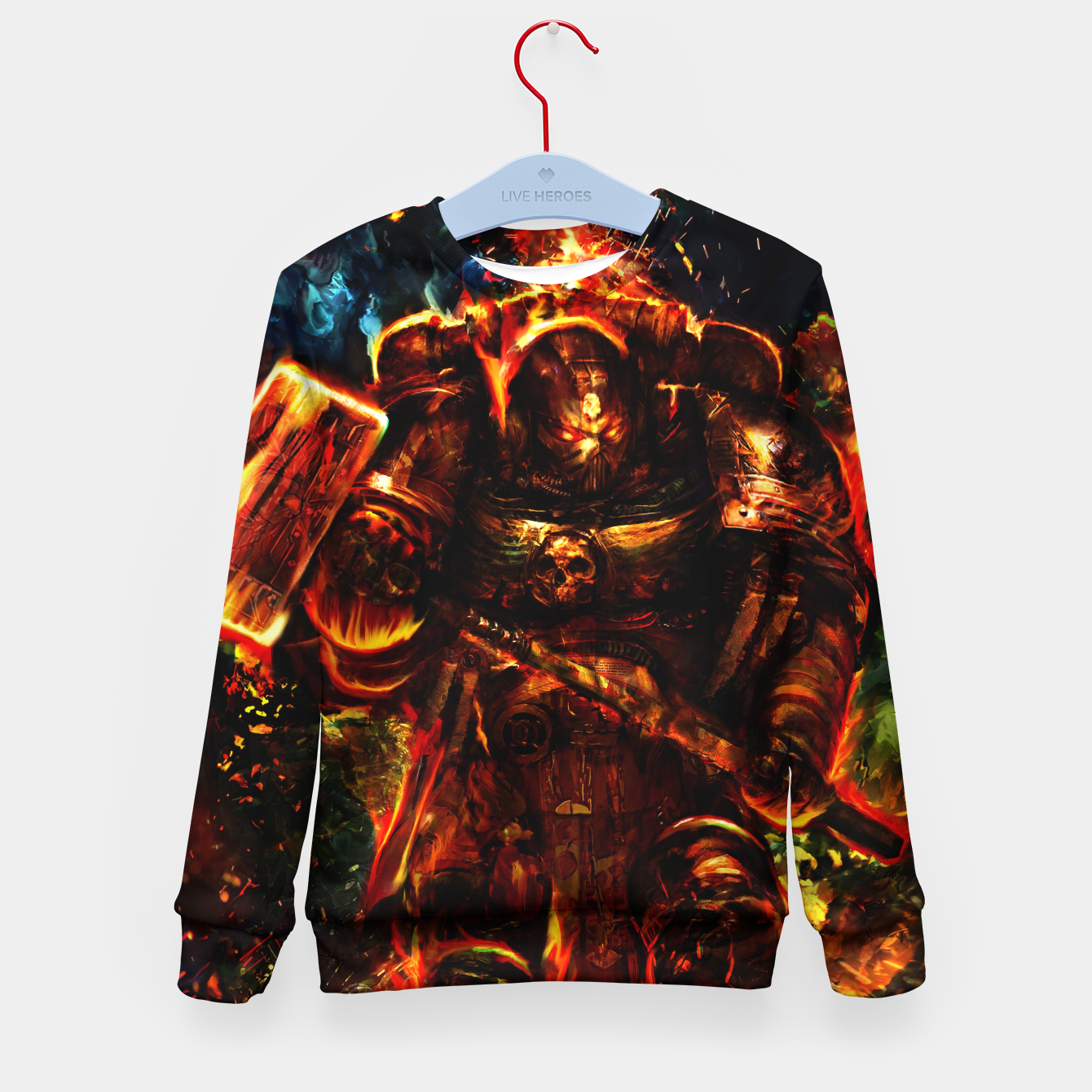 Image of warhammer Kid's sweater - Live Heroes