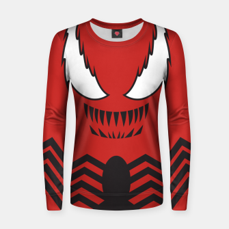 Miniatur Minimal Carnage Women sweater, Live Heroes