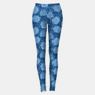 Thumbnail image of Frozen world of flowing roses Leggings, Live Heroes