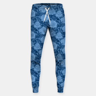 Thumbnail image of Frozen world of flowing roses Sweatpants, Live Heroes