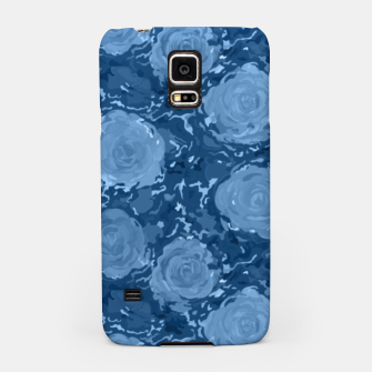 Thumbnail image of Frozen world of flowing roses Samsung Case, Live Heroes