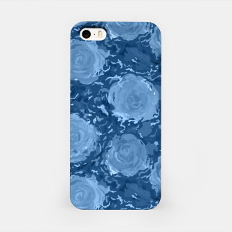 Thumbnail image of Frozen world of flowing roses iPhone Case, Live Heroes