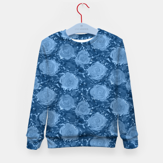 Thumbnail image of Frozen world of flowing roses Kid's sweater, Live Heroes