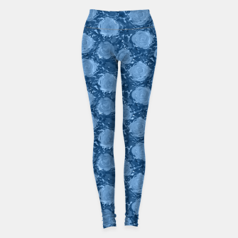 Miniature de image de Frozen world of flowing roses Leggings, Live Heroes