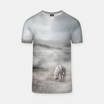 Thumbnail image of Foggy Iceland T-Shirt, Live Heroes