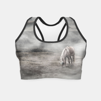 Thumbnail image of Foggy Iceland Crop Top, Live Heroes
