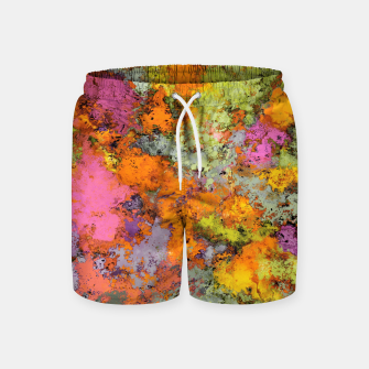 Thumbnail image of Horse jumper Swim Shorts, Live Heroes