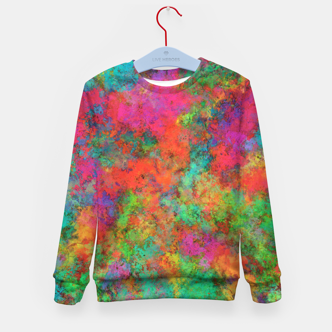 Image of The spark Kid's sweater - Live Heroes