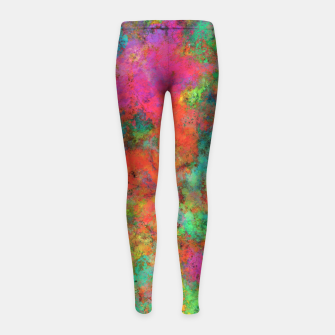 Thumbnail image of The spark Girl's leggings, Live Heroes