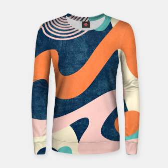 Thumbnail image of Retro Waves Women sweater, Live Heroes