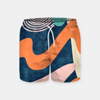 Miniaturka Retro Waves Swim Shorts, Live Heroes