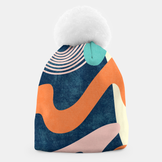 Thumbnail image of Retro Waves Beanie, Live Heroes
