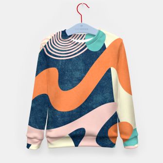 Thumbnail image of Retro Waves Kid's sweater, Live Heroes