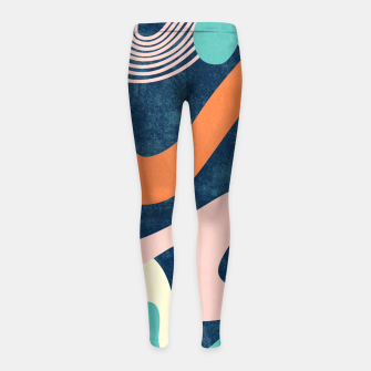 Miniaturka Retro Waves Girl's leggings, Live Heroes