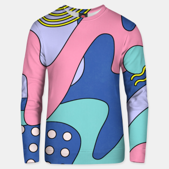 Thumbnail image of Retro Memphis Waves 03 Unisex sweater, Live Heroes