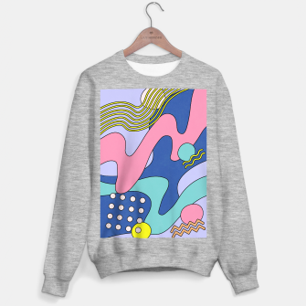 Thumbnail image of Retro Memphis Waves 03 Sweater regular, Live Heroes