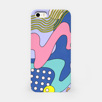 Thumbnail image of Retro Memphis Waves 03 iPhone Case, Live Heroes