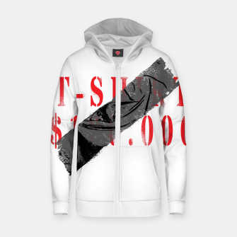 Thumbnail image of T-Shirt $120.000 Zip up hoodie, Live Heroes