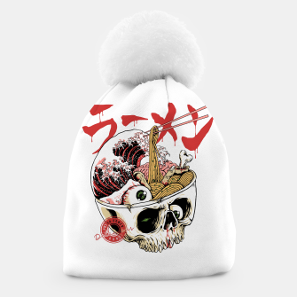 Thumbnail image of Scary Ramen Beanie, Live Heroes