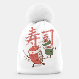 Thumbnail image of Sushi Warrior Beanie, Live Heroes