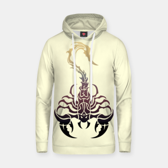Miniatur Scorpio, animal print, wild nature, scorpion, zodiac sign, celtic design Hoodie, Live Heroes