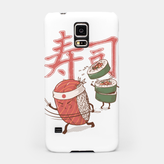 Thumbnail image of Sushi Warrior Samsung Case, Live Heroes