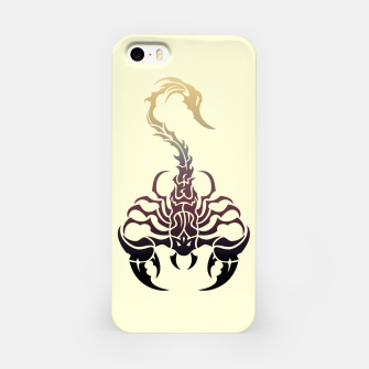 Miniature de image de Scorpio, animal print, wild nature, scorpion, zodiac sign, celtic design iPhone Case, Live Heroes