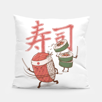 Thumbnail image of Sushi Warrior Pillow, Live Heroes