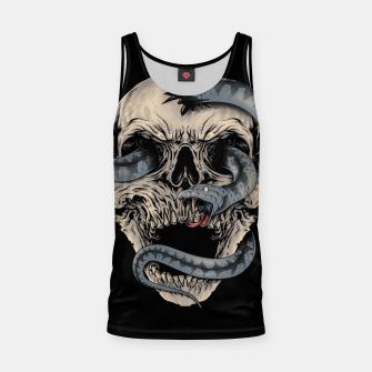 Thumbnail image of Skull Snake Tank Top, Live Heroes