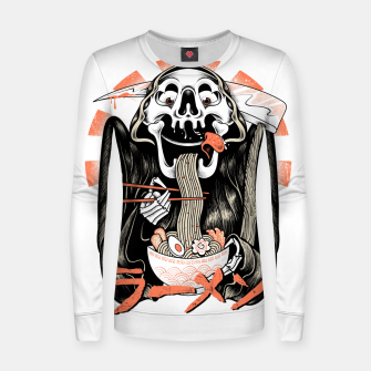 Grim Reaper Love Ramen Women sweater thumbnail image