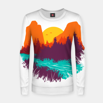River and Sunset Women sweater thumbnail image