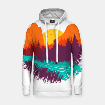 River and Sunset Hoodie thumbnail image