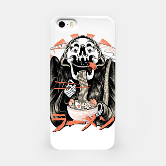 Grim Reaper Love Ramen iPhone Case thumbnail image