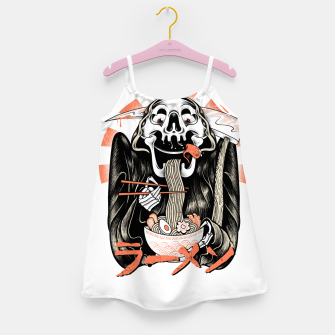 Grim Reaper Love Ramen Girl's dress thumbnail image