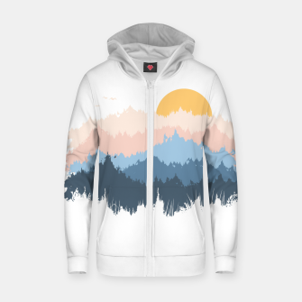 Thumbnail image of Jungle Zip up hoodie, Live Heroes