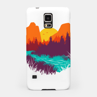 River and Sunset Samsung Case thumbnail image