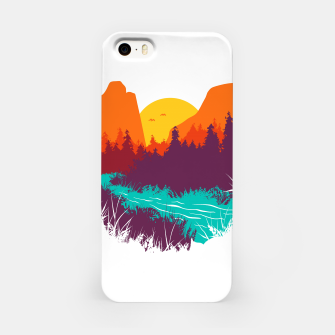 River and Sunset iPhone Case thumbnail image