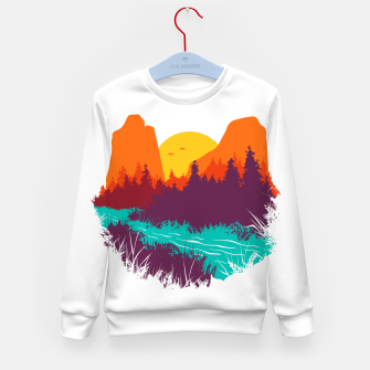 River and Sunset Kid's sweater thumbnail image