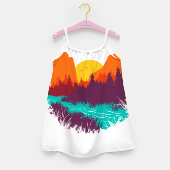 River and Sunset Girl's dress thumbnail image