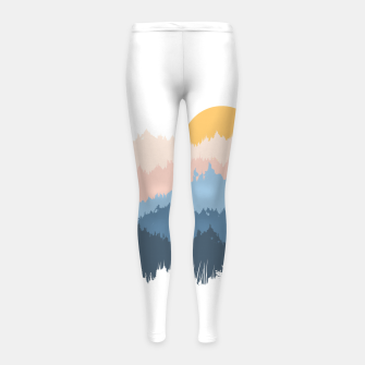 Miniatur Jungle Girl's leggings, Live Heroes