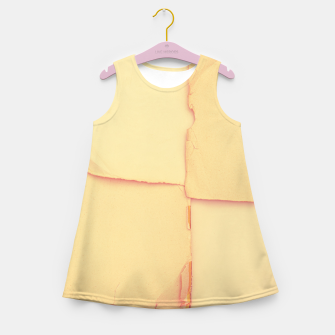 Thumbnail image of ingrid paper Girl's summer dress, Live Heroes