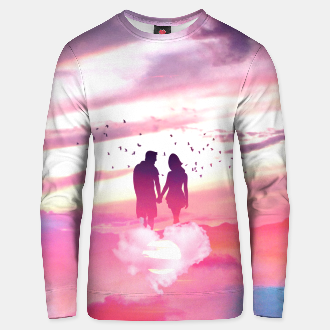 Image of Couple of Lovers Unisex sweater - Live Heroes
