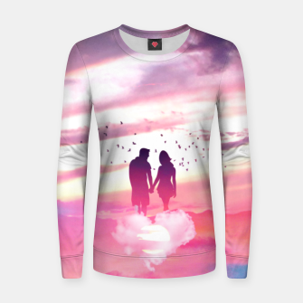 Miniatur Couple of Lovers Women sweater, Live Heroes