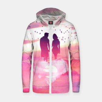 Thumbnail image of Couple of Lovers Zip up hoodie, Live Heroes