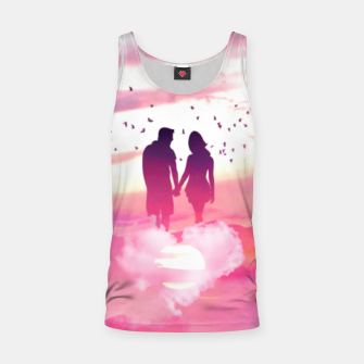 Miniatur Couple of Lovers Tank Top, Live Heroes