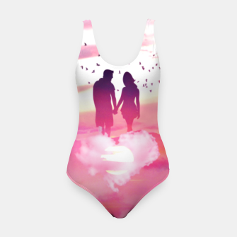 Miniatur Couple of Lovers Swimsuit, Live Heroes