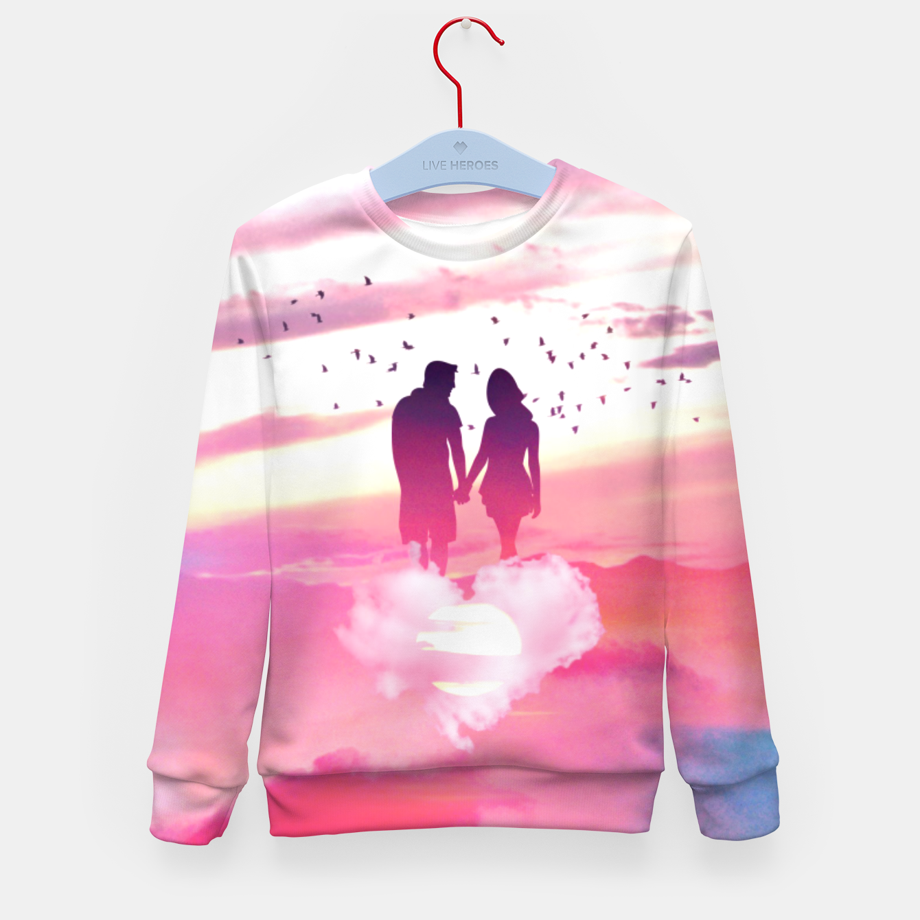 Zdjęcie Couple of Lovers Kid's sweater - Live Heroes